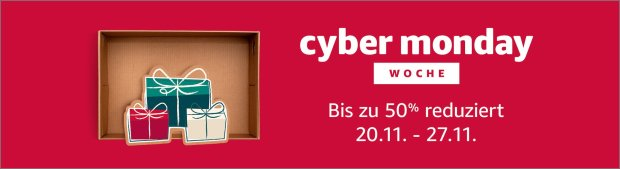 Cyber Week bei Amazon 2017
