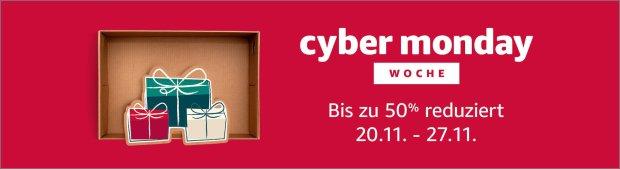 Cyber Week bei Amazon 2017