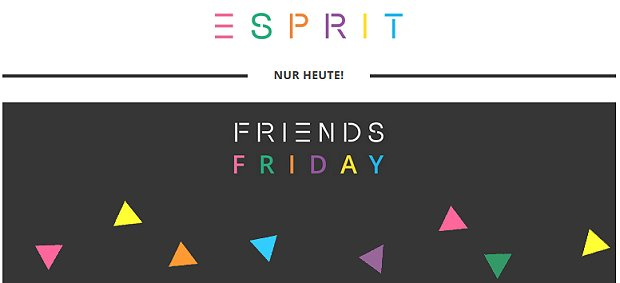 Friends Friday 2017 bei Esprit