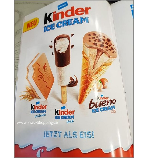 Neu: Kinderschokolade Eis