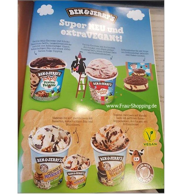 Neue Ben & Jerrys Eissorten für 2018