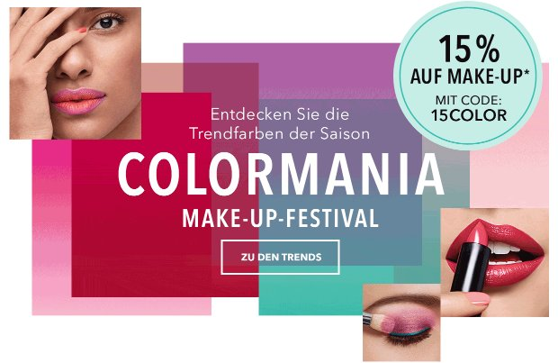 15% Rabatt auf Make-up auf douglas.de