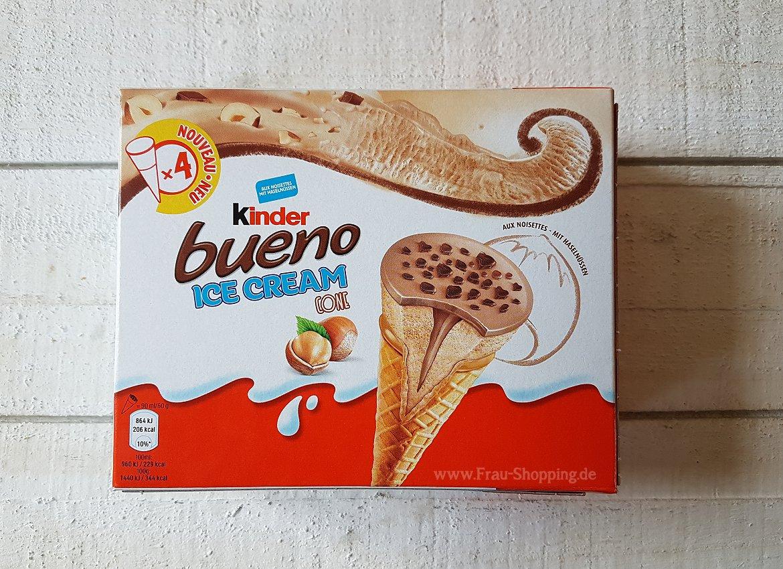 Kinder Ice Cream Kinderschokolade Eis Stick Sandwich Und Bueno Cone