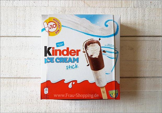 Kinderschokolade Eis Stick