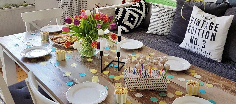 Der 3 Geburtstag Vom Kind Kuchen Und Deko