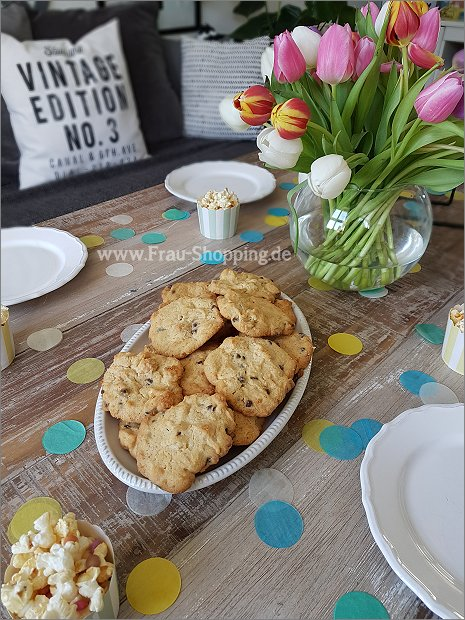 Cookies statt Kuchen