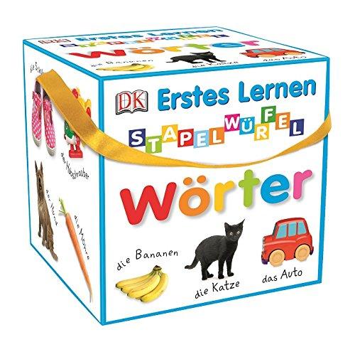 Erstes Lernen - Stapelwürfel Wörter