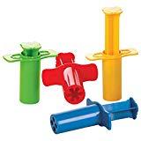 Gowi 185-10 Knetspritzen, Küchenspielzeug, 4-er Set