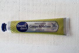 Dontodent Ginger & Melissa Zahnpasta von dm