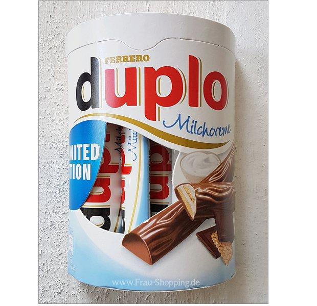 duplo Milchcreme Verpackung