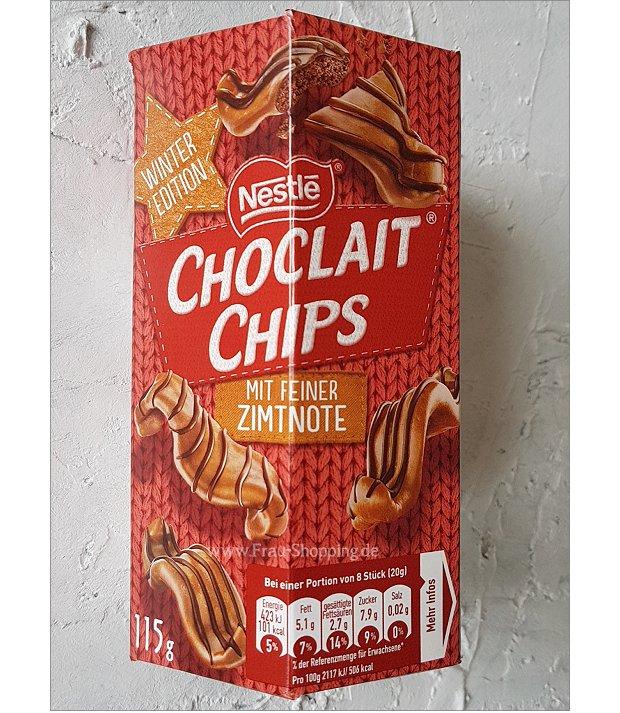 Choclait Chips mit Zimt