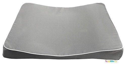 Luma L80403 Wickelauflage 3-keil, Dark Grey