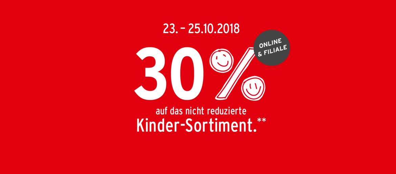 mehr Fotos Gutscheincode größte Auswahl Ernstings family: 30% Rabatt auf Kinderkleidung