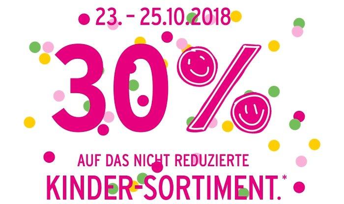 Ernstings Family: 30% Rabatt auf Kinderkleidung