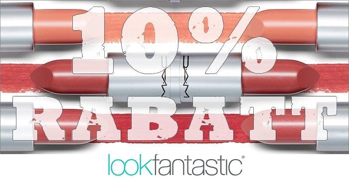 10% Rabatt auf MAC und 22% auf den Adventskalender bei Lookfantastic