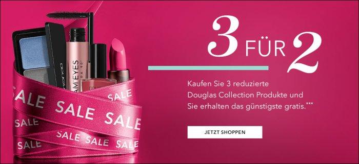 3für2 Angebot auf douglas.de