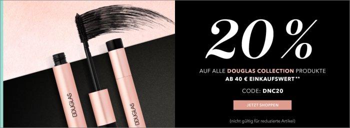 20% Rabatt Douglas Collection Produkte auf douglas.de
