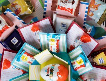 DIY: Kinder Explosion Box mit Süßigkeiten