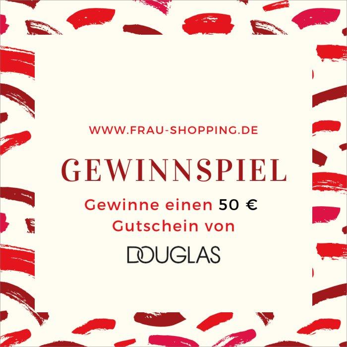 Gewinnspiel: Gewinne einen 50 Euro Gutschein von Douglas