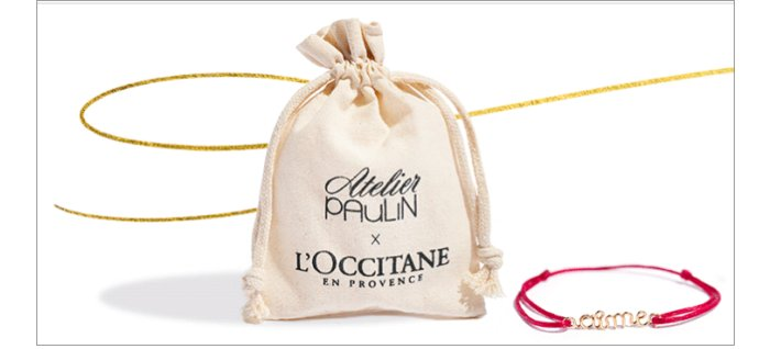 L'Occitane Armband von Atelier Paulin gratis