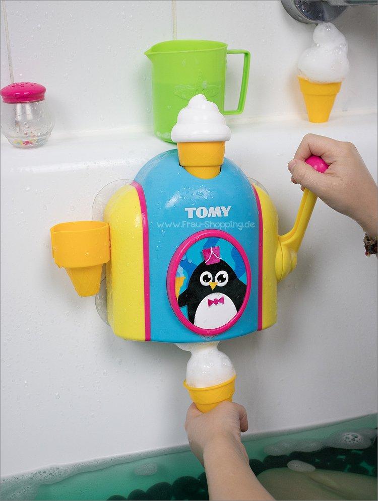 Wasserspielzeug für die Badewanne - Schaummaschine von TOMY