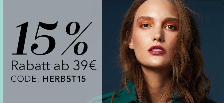 15% Rabatt auf jede Bestellung auf douglas.de