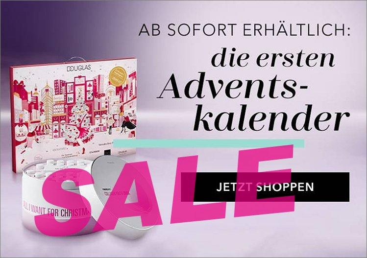 Endlich! :-) Adventskalender auf douglas.de