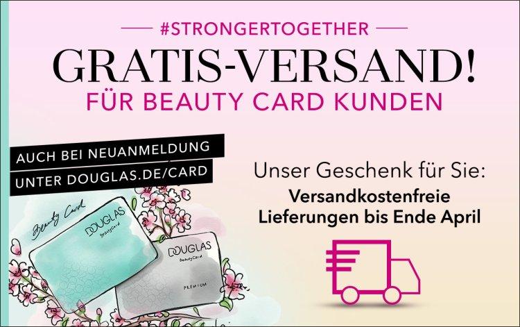 Gratis Versand für jede Bestellung auf douglas.de