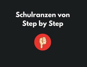 Warnung vor Step by Step Schulranzen –  viel höheres Gewicht!